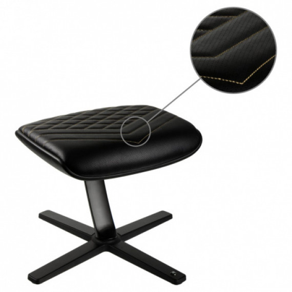 Noblechairs repose-pieds - noir / or