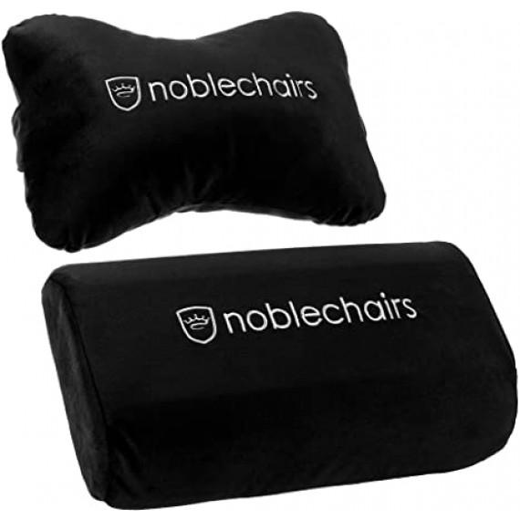 Noblechairs chic coussin de chaises fixé pour EPIC / ICON / HERO - noir / blanc
