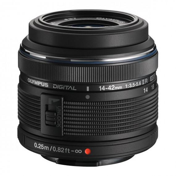 Olympus ED 14-42mm f/3.5-5.6 II R noir