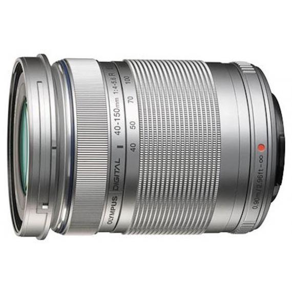 Olympus ED 40-150mm F/4-5.6 R argent