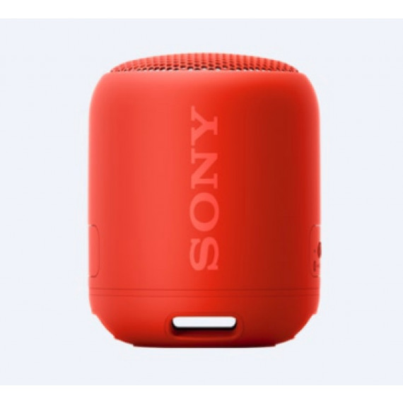 SONY Enceinte Bluetooth  SRS-XB12 Rouge Extra Bass