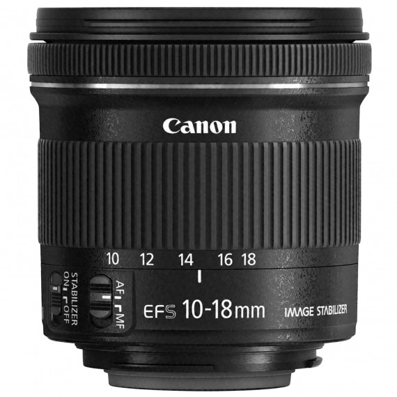 CANON Canon EF-S 10-18mm f/4.5-5.6 IS STM - Zoom optique ultra grand-angle stabilisé