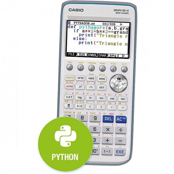 Casio GRAPH90+E PYTHON