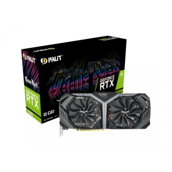 PALIT RTX2080 GAMEROCK 8GB