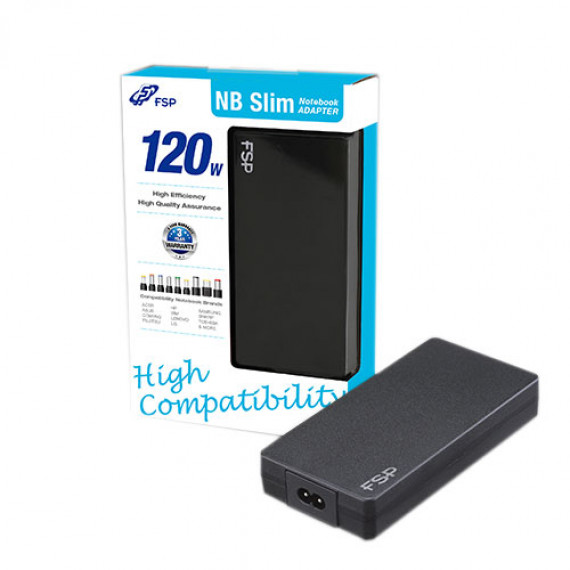FSP FSP FSP-NB120 Slim - Adaptateur secteur 120W universel
