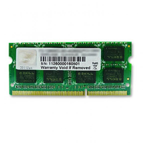 GSKILL 4 Go DDR3 1600 MHz CL9 SODIMM 204 pins