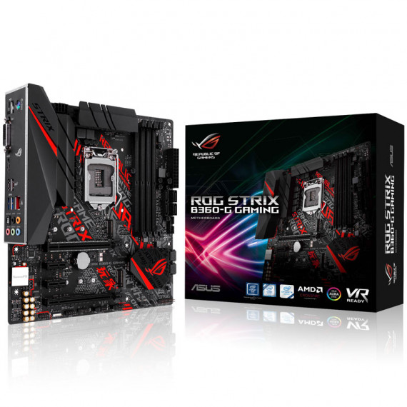 ASUS STRIX B360-G Gaming  Intel carte mère B360  RoG - Socket 115