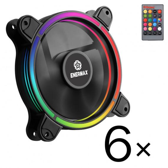 Enermax T.B. RGB Pack de 6