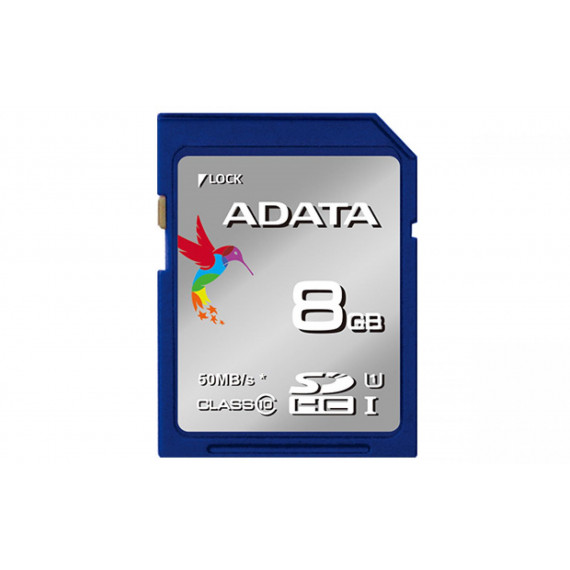 Carte Mémoire ADATA Secure Digital SDHC Card UHS-I 16 GB Class 10, Premier-Serie