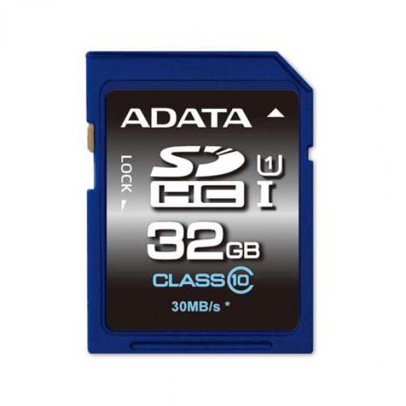 Carte Mémoire ADATA Secure Digital SDHC Card UHS-I 32 GB Class 10, Premier-Serie