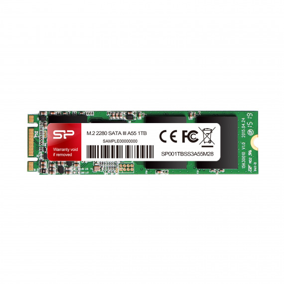 SILICON POWER SSD interne  M.2 2280.128G SATA III 6Gbps. Max 560/530 Mb/s  SP128G