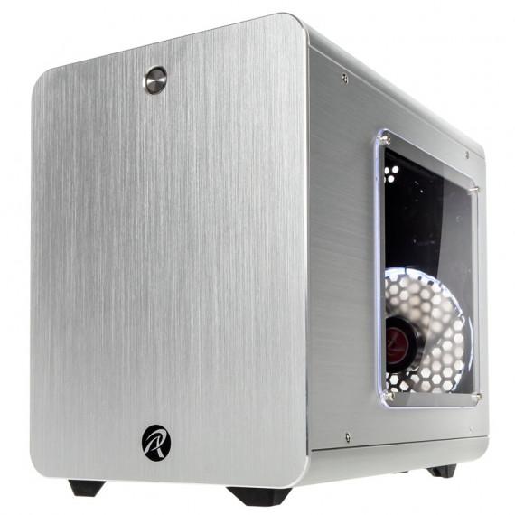 RAIJINTEK Raijintek METIS PLUS Mini-ITX cas - argent fenêtre