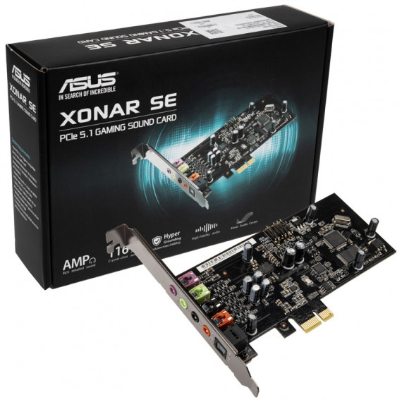 ASUS Xonar SE carte son 5.1 canaux Surround