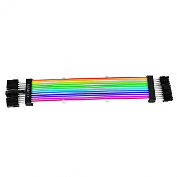 LIAN LI Strimer Plus Triple 8-Pin RGB PCIe VGA-Stromkabel + Fernbedienung