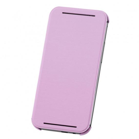 HTC Coque à Rabat Double Dip HC V941 Rose One M8