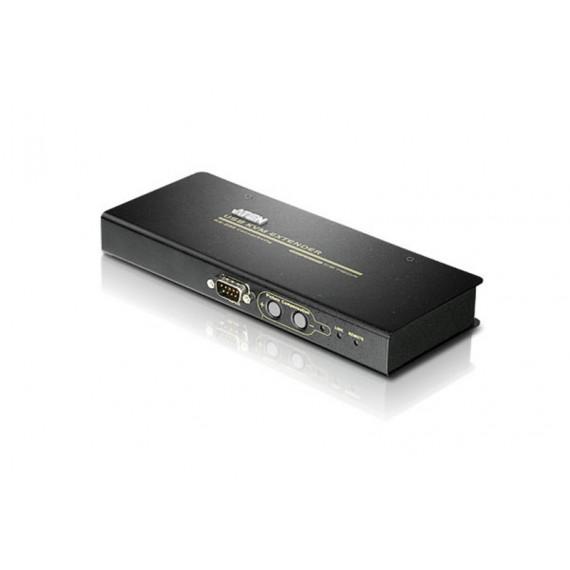 Aten CE750 - Système d'extension KVM Cat. 5 VGA USB avec audio et RS-232