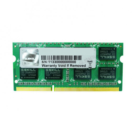 GSKILL SO-DIMM 4 Go DDR3 1333 MHz CL9