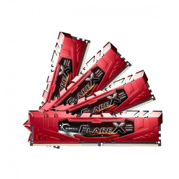 GSKILL Flare X Series Rouge 32 Go (2x 16 Go) DDR4 2400 MHz CL15