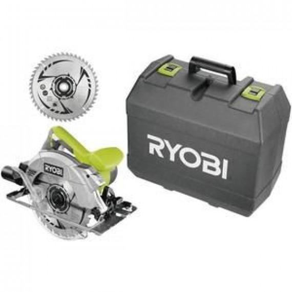 Ryobi Scie circulaire 1600 Watts + 2 lames