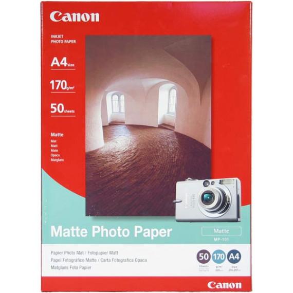 CANON MP-101 - Papier photo mat (A4 50 feuilles)