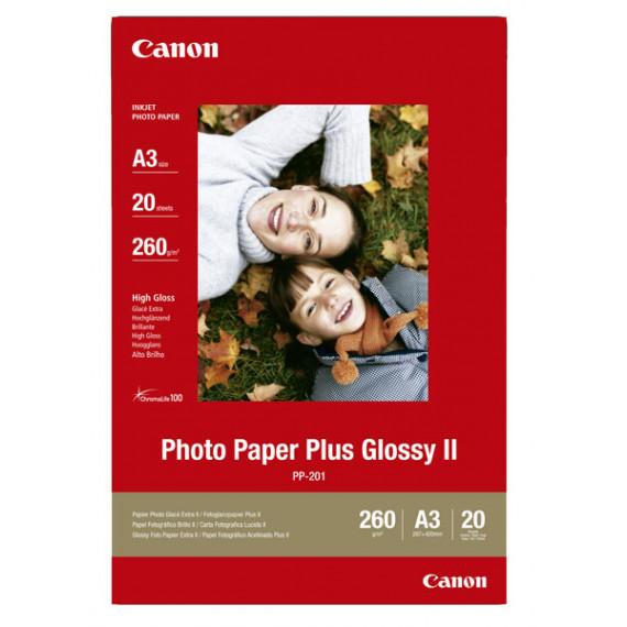 CANON PP-201 - Papier Photo, 260g/m² (10 x 15 cm, 50 feuilles)