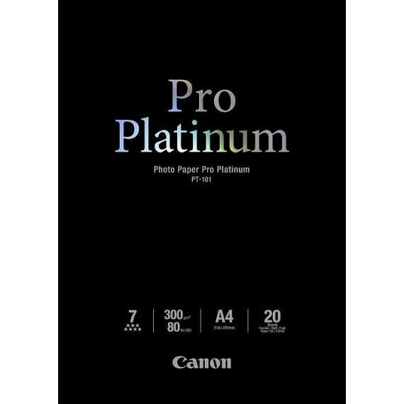 CANON Papier photo PT-101 Pro Platinum A4