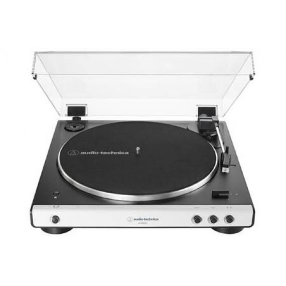 Audio-Technica AT-LP60XBT Blanc