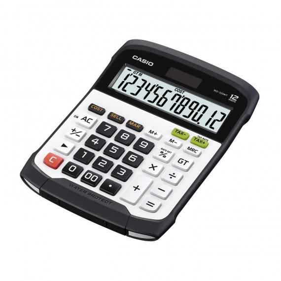 Casio Casio WD-320MT - Calculatrice de bureau 12 chiffres étanche et lavable