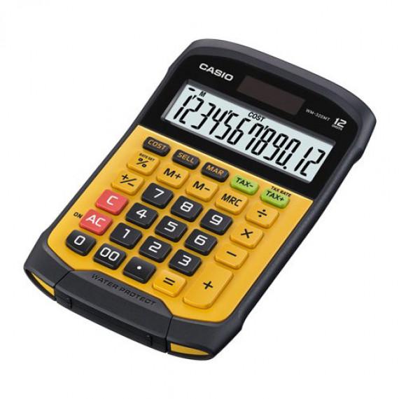 Casio Casio WM-320MT - Calculatrice de bureau 12 chiffres étanche et lavable