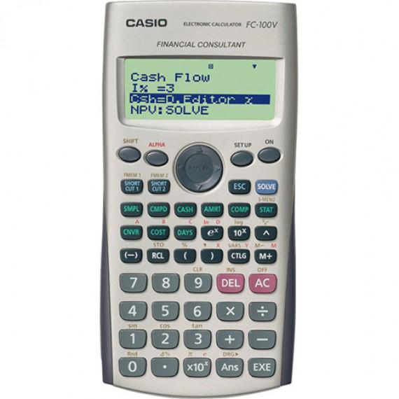 Casio FC 100V - Calculatrice financière