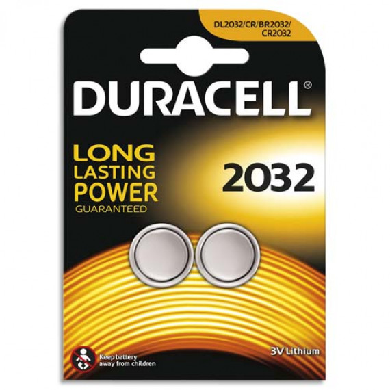 Duracell Typ 2032 Lithium Knopfbatterie