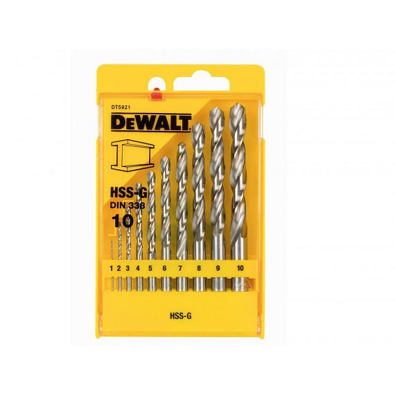 foret DeWalt HSS-G MetallForet Set 13 pièces