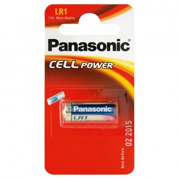 PANASONIC Alkali PowerCells LR1/1BP