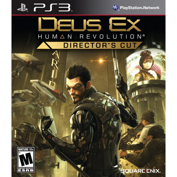Deus Ex: Human Revolution Director's Cut (PS3)
