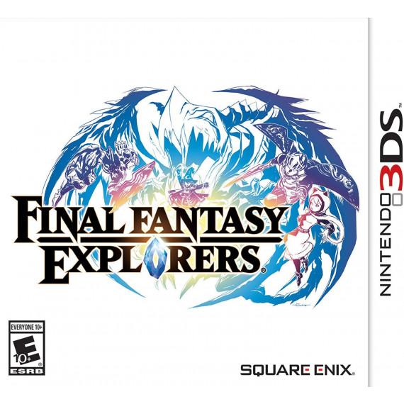 Final Fantasy : Explorers (Nintendo 3DS) (Pré-commande - Sortie le 29 Janvier 2016)