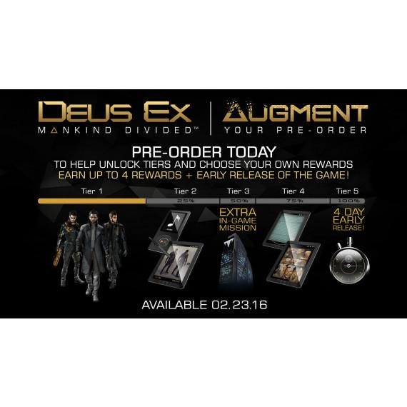 Square Enix Deus Ex : Mankind Divided (PC) (Pré-commande - Sortie le 23 Août 2016)