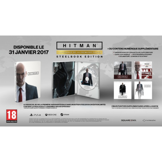 KOCH MEDIA HITMAN : SAISON 1 PS4