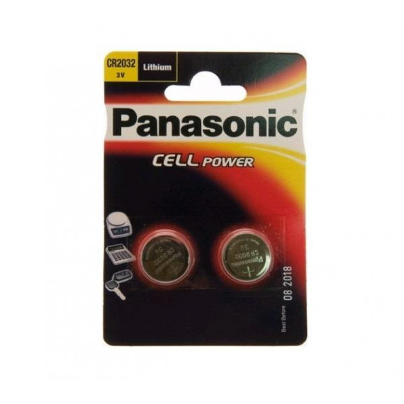 Panasonic Lithium Knopfzelle CR-2032L/2BP