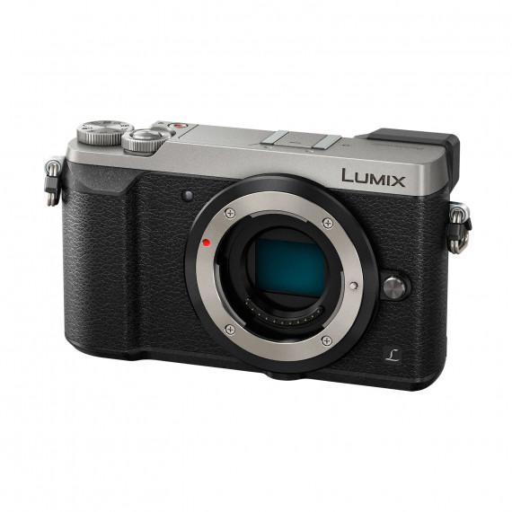 Panasonic DMC-GX80EF-S Argent - Appareil photo 16 MP - Zoom numérique 4x - Vidéo 4K - Écran tactile - Wi-Fi (boîtier nu)