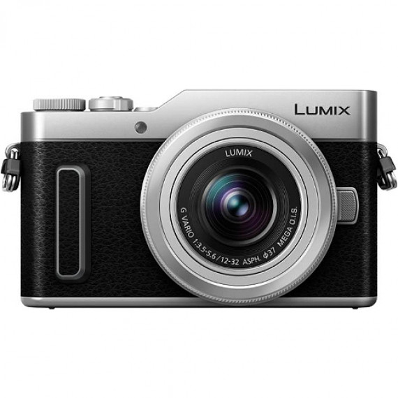Panasonic Appareil photo hybride  Lumix DC-GX880KEFS Argent + Objectif 12-32mm