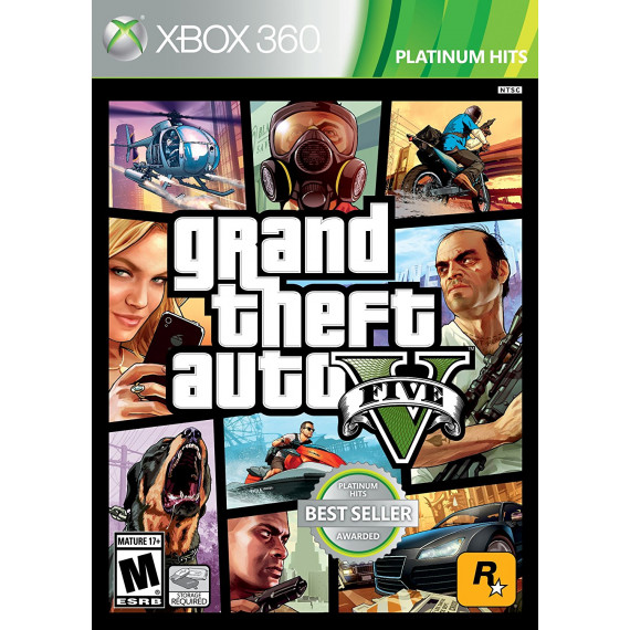 Grand Theft Auto V - GTA 5 (Xbox One)