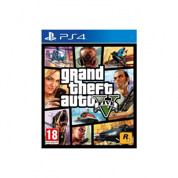 ROCKSTAR GTA V PS4