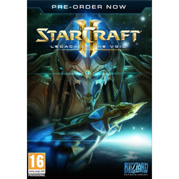Blizzard Entertainment StarCraft II : Legacy of the Void (PC/MAC) - Edition Collector - Extension pour StarCraft II