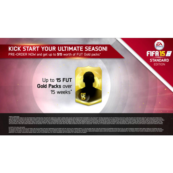 Electronic Arts FIFA 15 (PS4) (Pré-commande - Sortie le 25 Septembre 2014)