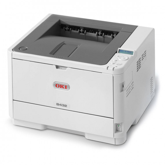Oki Imprimante Laser 45762012 hellgris, USB
