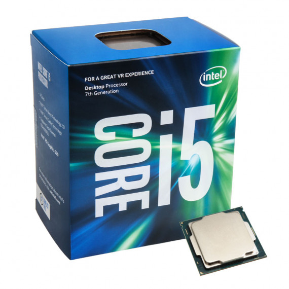 INTEL Core i5-7600 (3.5 GHz) Processeur Quad Core Socket 1151 Cache L3 6 Mo Intel HD Graphics 630 0.014 micron