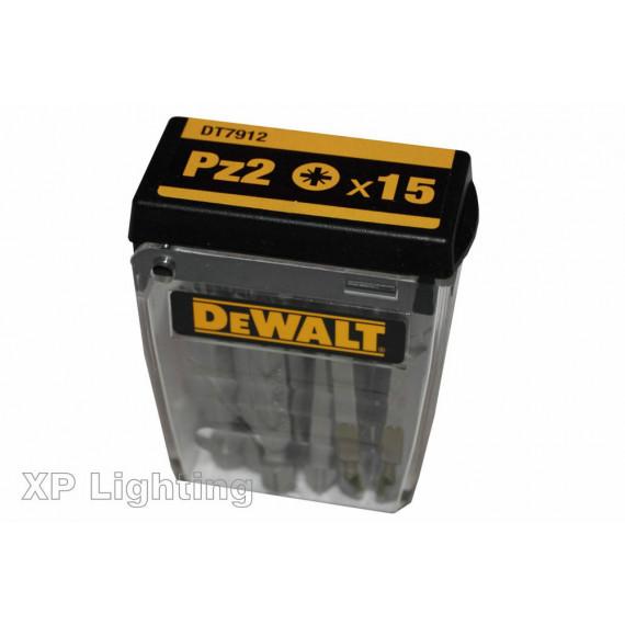 Embout de vissage DeWalt Tic Tac Box DT7912-QZ PZ2
