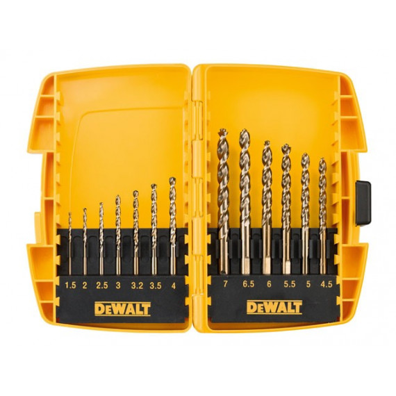 foret DeWalt 13 pieces à metaux