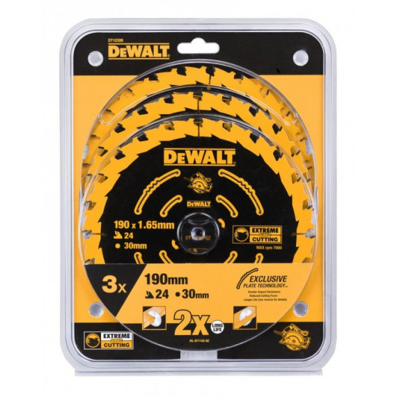 Lame de scie DeWalt DT10399 190/30mm