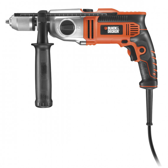 BLACK & DECKER Perceuse à Percussion 910 W KR911K